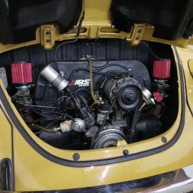 Filtro De Ar Esportivo Cônico Duplo Fluxo Para FUSCA Carburação DUPLA