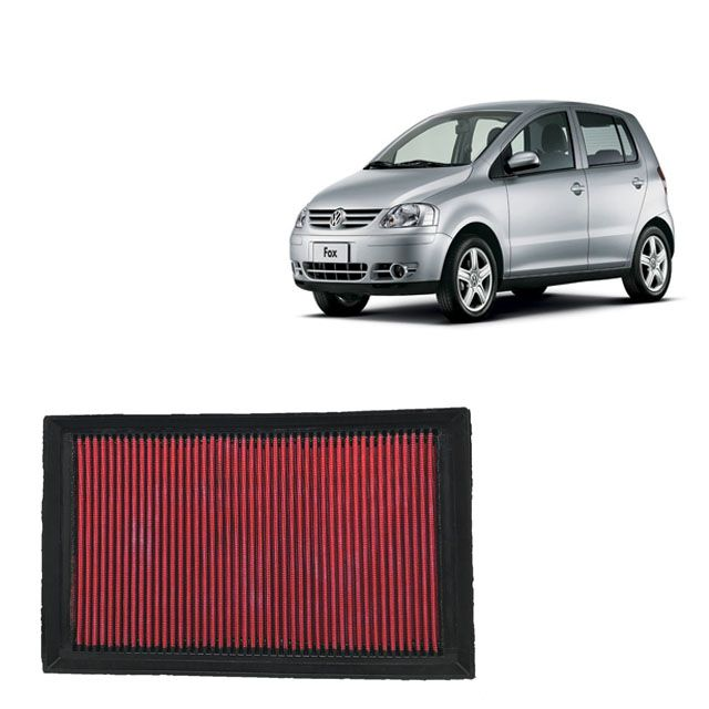 Filtro De Ar Esportivo Inbox VW Fox 1.6 8V MI Flex 2003 a 2008