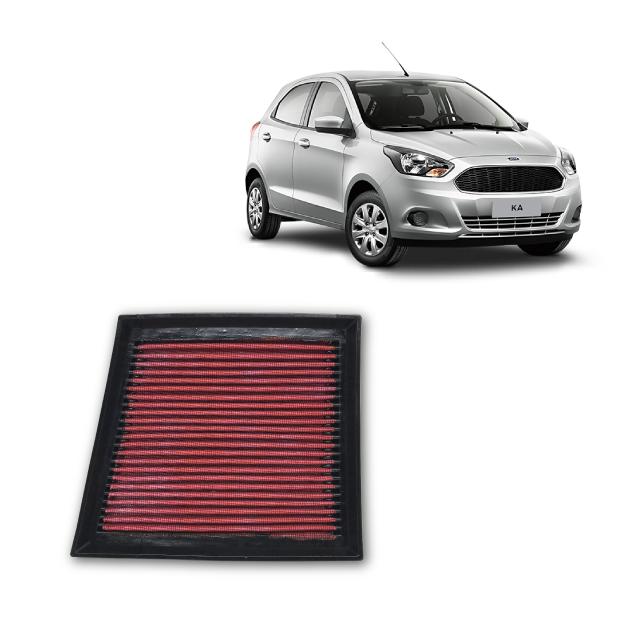 Filtro De Ar Esportivo Inbox Ford Ka 1.0 2014 até 2020