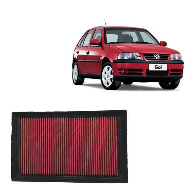 Filtro De Ar Esportivo Inbox VW GOL G3 1.0 8V