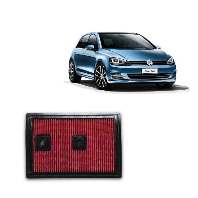 Filtro De Ar Esportivo Inbox VW GOLF 1.4 TSI ano 2013 diante