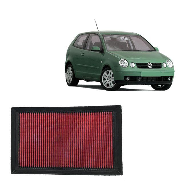 Filtro De Ar Esportivo Inbox VW Polo 1.6 8V MI 2002 a 2008