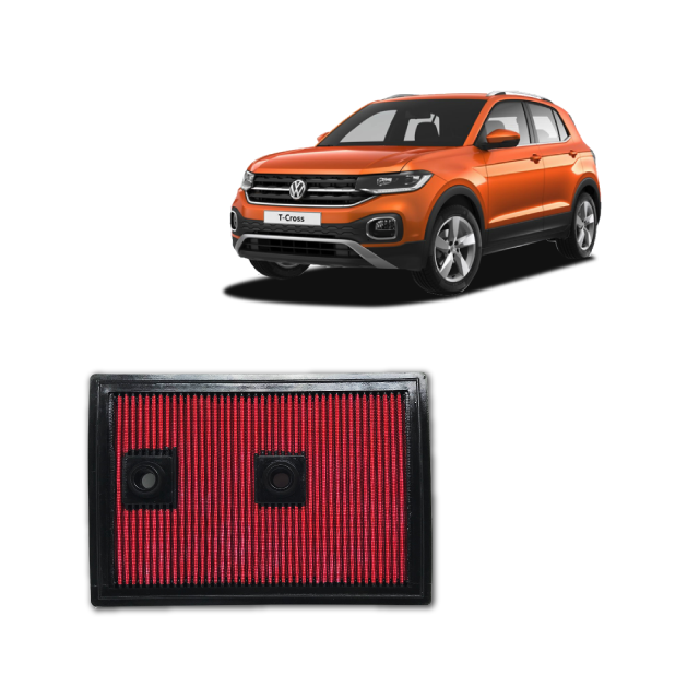 Filtro De Ar Esportivo Inbox VW T-CROSS 1.4 TSI 2019 em diante