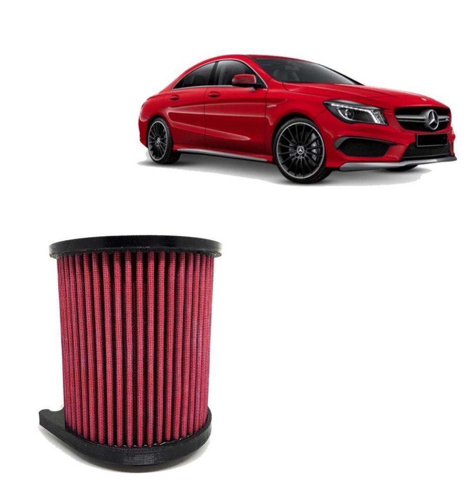 Filtro de Ar Esportivo Inbox Duplo Fluxo Mercedes-Benz A45 AMG 2013 até 2018