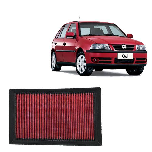 Filtro De Ar Esportivo Inbox VW GOL G3 1.0 16V