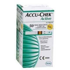 Accu chek Active com 50 Tiras