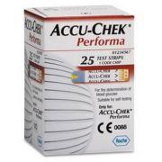 Accu-chek Performa C/25 Tiras