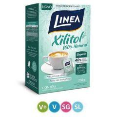 Adoçante Linea Xilitol - Sachê, 5g, 50 Unidades