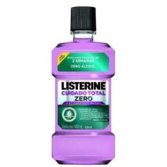 Antisséptico Bucal Listerine Cuidado Total Zero 500ml
