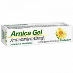 Arnica Gel - Herbarium - 200mg/g, caixa com 1 bisnaga com 30g de gel de us