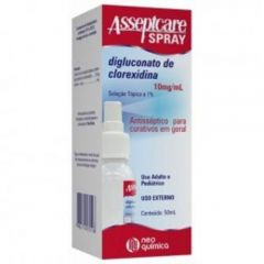 Asseptcare 10mg/ml 50ml Spray