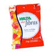 Balas com Fibras Diet Valda 24g