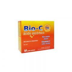 Bio-C Comprimido - 1g, com 10 comprimidos efervescentes