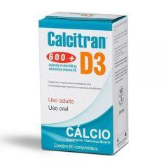 Calcitran D3 com 60 Comprimidos