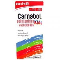 Carnabol Kids Suspensão com 120ml  Aché