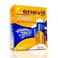 Cenevit Zinco Efervescente 1g com 30 Comprimidos - Legrand Pharma