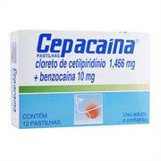 Cepacaína 12 Pastilhas