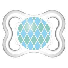 Chupeta Mam Mini Air Orto Sil N1 Azul