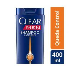 Clear Shampoo Anti Caspa Queda Control 400ml