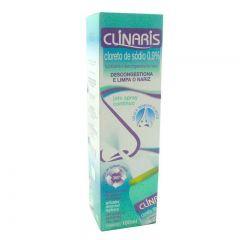 Clinaris 0,9% com 1 frasco com 100ml de Solução de uso Nasal