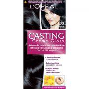 Coloração Permanente Casting Creme Gloss N° 200 Preto