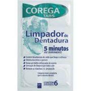 Corega Tabs Limpador de Dentaduras / 6 Comprimidos
