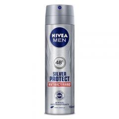 Desodorante Nivea Aerosol Silver Protect Masculino 93g