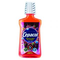 Enxaguante Bucal Cepacol Junior Tuti Frutti com 250ml