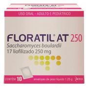 Floratil AT 250mg com 10 Sachês Merck