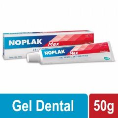 Gel Dental Noplak Max Gel Anti-Séptico 50g