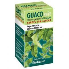 Guaco Edulito - 81,5mg/mL, caixa com 1 frasco com 120mL de solução de uso