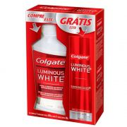 Kit Antisseptico Bucal Colgate 250ml+Creme Dental Whitening
