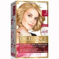 Kit Coloração L'Oreal Louro Claro 80