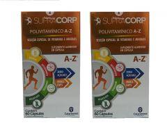 Kit com 2 caixas Polivitamínico A - Z Supracorp