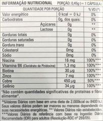 kit com 2 caixas Polivitamínico para Cabelos e Unhas Supracorp com 60 Cápsulas