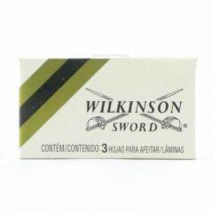 Lâmina WILKINSON SWORD contém 3 Unidades