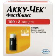 Lancetas Accu-Chek FastClix - 102 Unidades