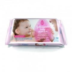 Lenço Umedecido Johnson's Baby Skin Care - 48 Unidades