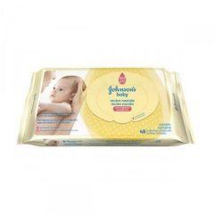 Lenços Umedecidos Johnsons Baby Recém-nascido 48 Unidades