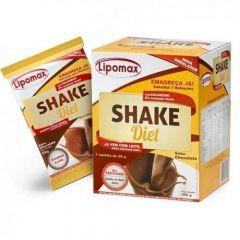 Lipomax Shake Diet Chocolate 7 Sachês com 40g