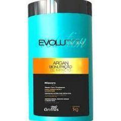 Mascára Capilar Argan  Evolution  Bionutrição 1kg