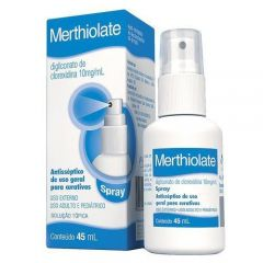 Merthiolate Incolor Spray 45ml