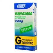 Naproxeno 250mg Genérico Teuto  15 Comprimidos