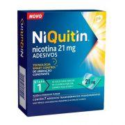 NiQuitin 21mg com 7 Adesivos - GSK