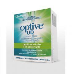 Optive UD Solução Oftálmica Lubrificante 30 Flaconetes 0,4mL