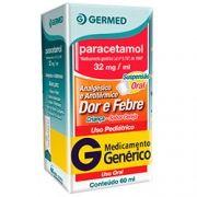Paracetamol Crianca 160 Mg/5 Ml Suspensão com 60 Ml