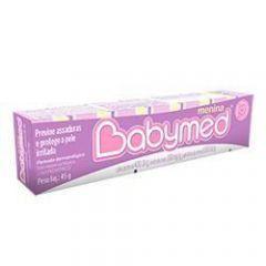 Pomada para prevenção de assaduras Babymed menina
