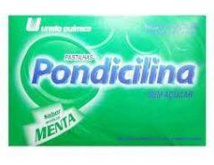 Pondicilina sabor menta com 12 pastilhas