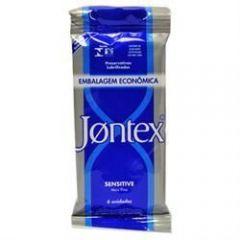 Preservativo jontex sensitive com 6 unidades