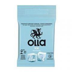 Preservativo Olla ice 3 unidades
